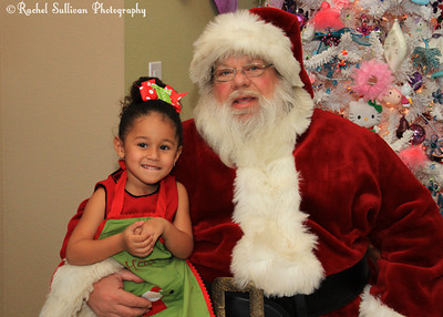 Gabriella's Santa Party 2011