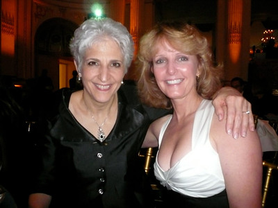 Laurie with Dr. Donna DiMichele, renowned inhibitor expert in the hemophilia community.