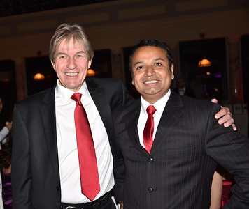 Doug Mildram and Ujjwal Bhattarai
