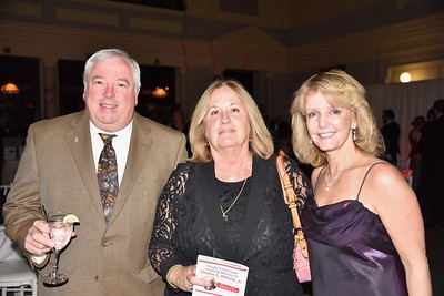 Jeff and Debbie Hall with neighbor Laurie Kelley