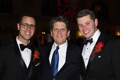 Rich Pezzillo (executive director NEHA) with Bob Massie and Michael DeGrandpre