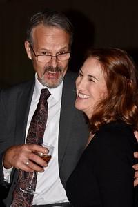 John Broucek and Martha Hopewell, executive director of Save One Life