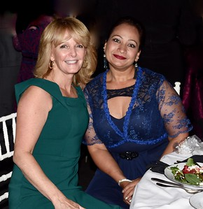 Laurie Kelley and Sunita Bhattarai
