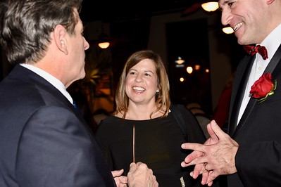 Lisa Schmidt, of Bioverativ, chats with Bob Massie and NEHA president Patrick Mancini