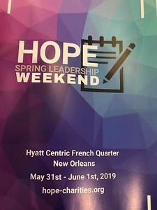 HOPE 2019 02 Spring Leadership weekend