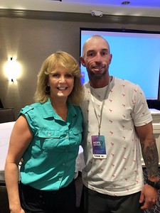 HOPE 2019 03 Laurie with Chad Whilte