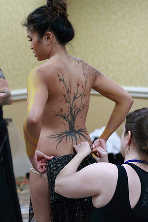 Galaxyfest Body Painting!!
