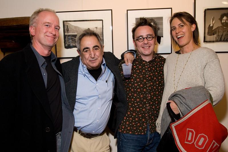 Duncan Miller (Los Angeles), Jim Marshall (San Francisco), Dave Brolan (London), Dianne Duenzl (Santa Fe)