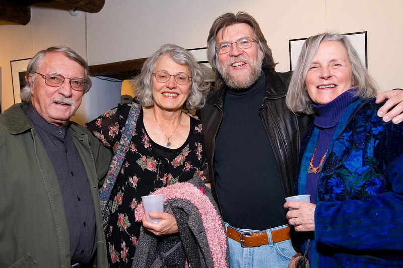 Ron Marchese, writer Linda Thompson, Gari Smith, KC Verde