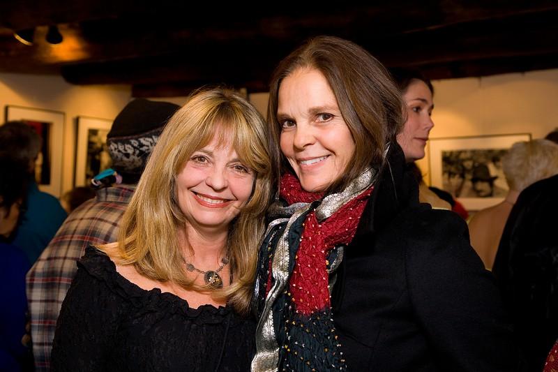 Designer Robin Brazy and actress Ali McGraw