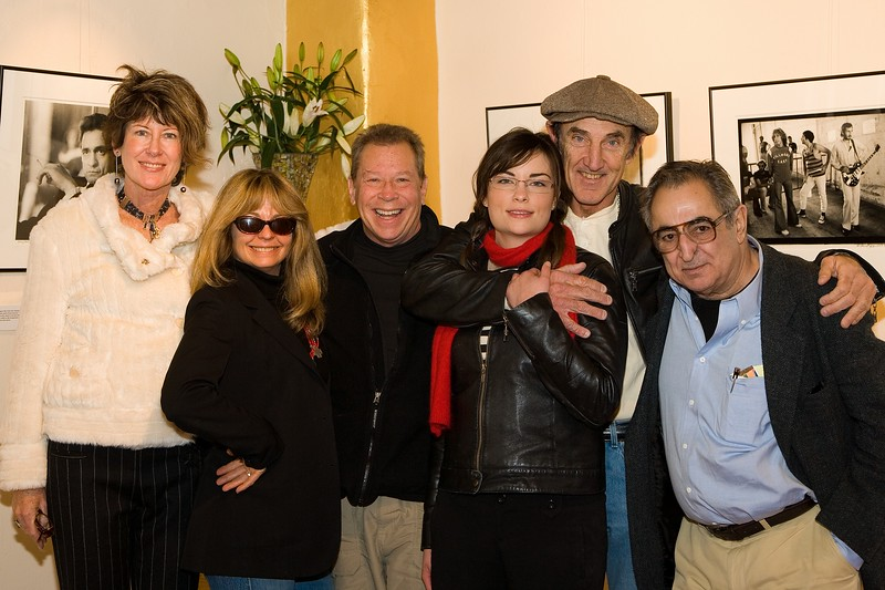 LouLou, Robin Brazy, Tony Bonanno, Liz Ryan, Michael Zagaris, Jim Marshall