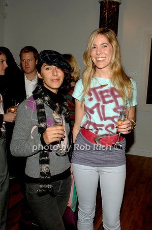 Nika Saravi and Courtney Kern