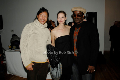 Kenny Tang, Karen Holmberg and Fab 5 Freddy