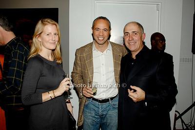 Megan Scott, Stefan Kaluzny and Michael Namer