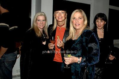 Lisa Nilsson Levin, Elke Gazzara, Christine Namer and Donna Acquaviva