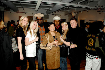 Guest, Robyn Schwartzah, Fab 5 Freddy, Ellen Navola, Joclyn Schwatzah and Guest