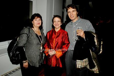 Nancy Harrisson, Harriett Irgang and Robert Altamura