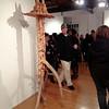 Buckham Gallery, Flint MI - Dave Cowan's opening