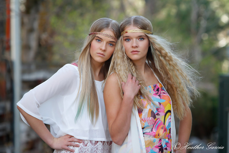 15 year old twin models