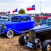 1934 Ford Coupe (in blue)