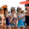 Vintage bathing swimwear contest in Galveston, Texas. May 18 2013