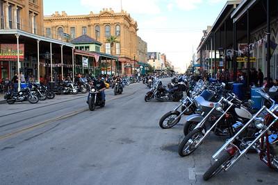 Lone Star Bike Rally 2013 Galveston, Texas