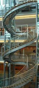 Stairs in Leipzig Convention Centre