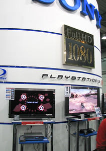Sony's booth