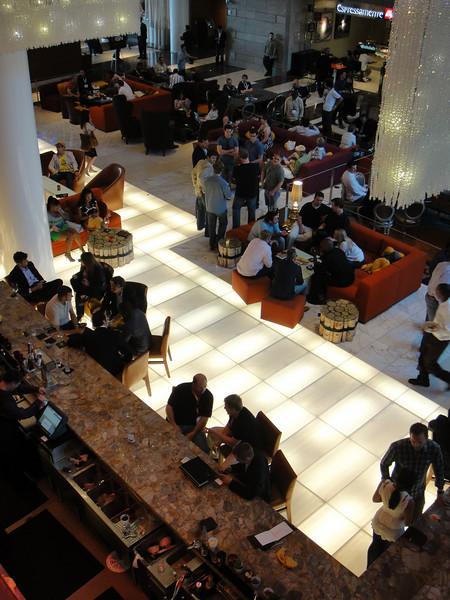 JW Marriott lobby.