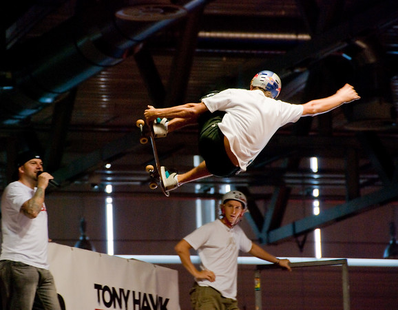 Tony Hawk's RIDE skater at GamesCom