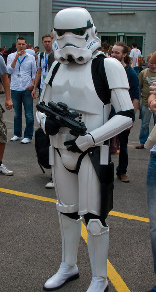 Stormtrooper at Gamescom