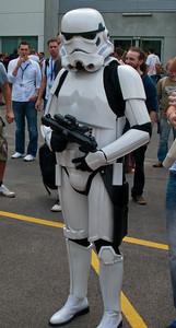 Stormtrooper at Gamescom