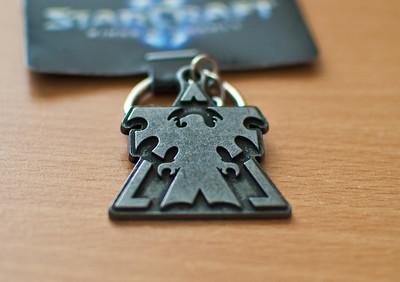 Starcraft II Terran keychain