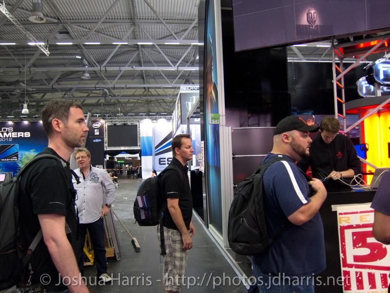 Joshua Harris, Chris Fitts and Matt DeWald