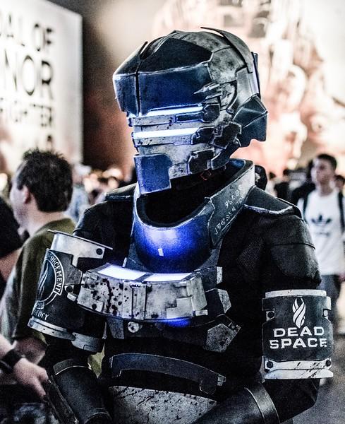 Isaac Clarke from Dead Space @ Gamescom 2012