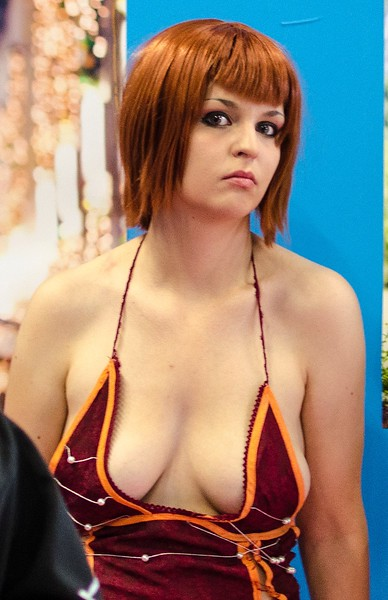 Cosplaying girl @ Gamescom 2012