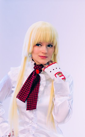 Cosplaying girl @ Gamescom 2012