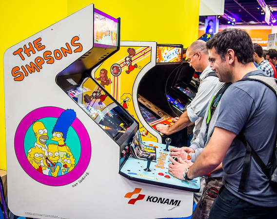 Retro-gaming at Gamescom 2013