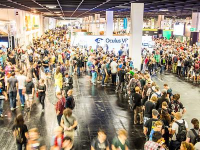 Oculus Rift at Gamescom 2013