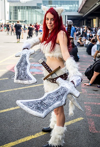Cosplayer at Gamescom 2015