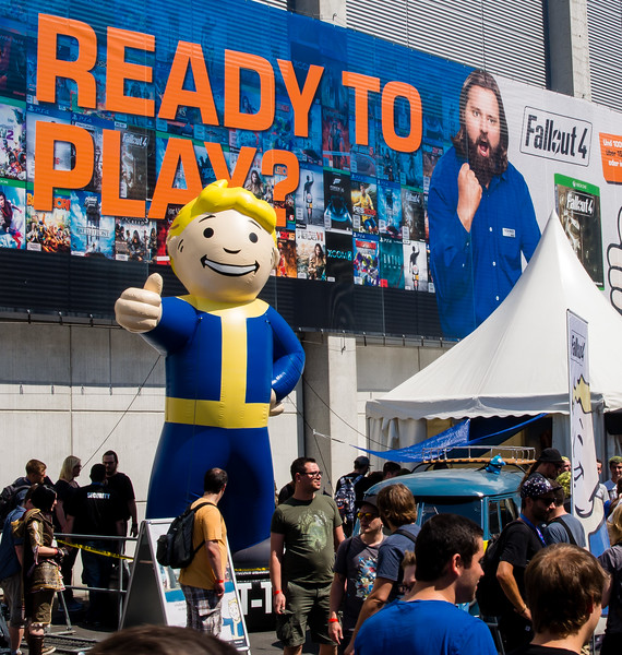 Fallout 4 at Gamescom 2015