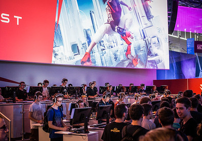 Mirrors Edge at Gamescom 2015