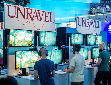 Unravel at Gamescom 2015
