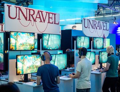Unravel at Gamescom 2015