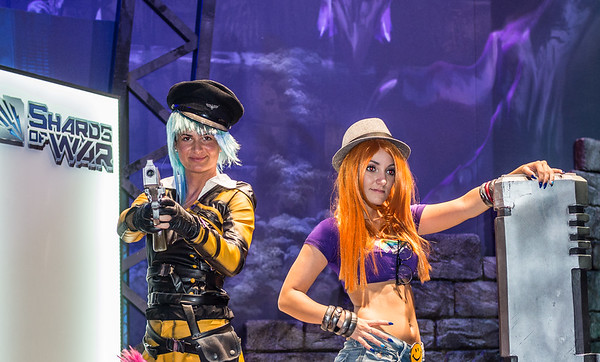 Models at Gamescom 2015