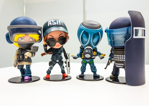Rainbow Six Siege mini chibi figurines