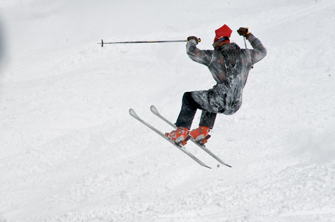Gaper Fools Day, Jackson Hole Mountain Resort