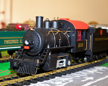 G Scale layout designed and displayed by Aaron Wise (14yrs)