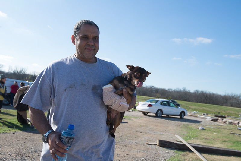 dog reunited with owner after 3 days