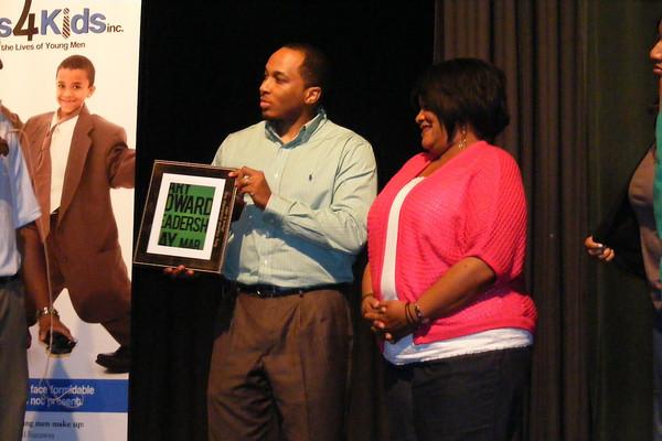Robyne Edwards presented GEL plaque